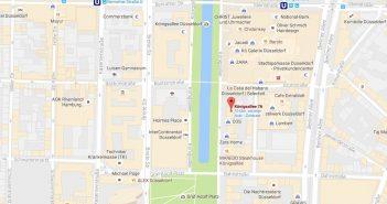Google-Maps: Kö 76/78