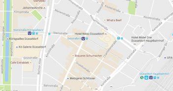 Google-Maps: Oststraße