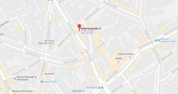 Google-Map: Rocaille an der Ulmenstraße
