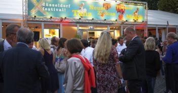 September 2016: Das düsseldorf festival! wird eröffnet
