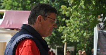 Christoph Honig, der Akki-Gründer
