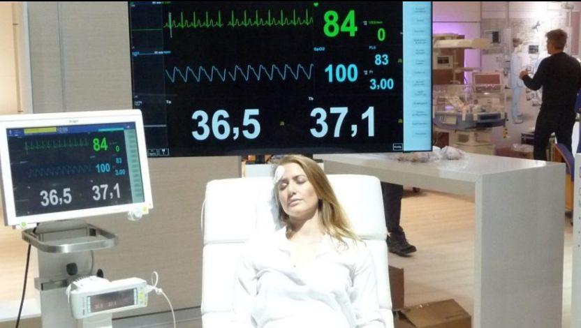 """Medica - """"TCore""""-Sensor (Foto: beta-web/Stöter)"""