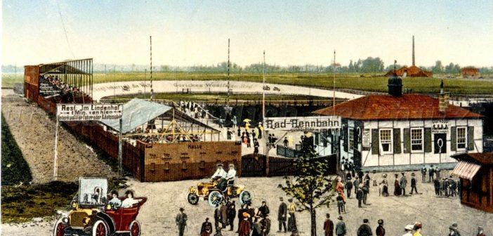 Radrennbahn Lörick (Abb.: Bilderbuch Düsseldorf)