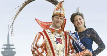 Das Düsseldorfer Prinzenpaar 2017