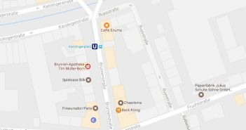 Google-Map: Karolingerplatz
