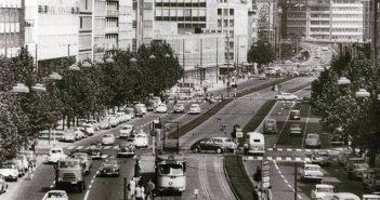 Die Berliner Allee 1965 (Foto: Stadtarchiv)