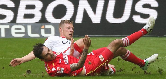 F95 vs Union 2:2 (Foto: David Young)