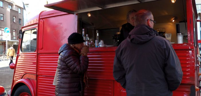 Bild der KW18: Kaffeebud am Benrather Markt