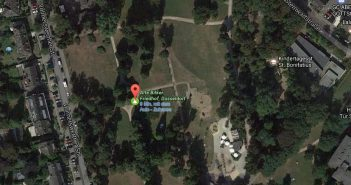Google-Map: Alter Bilker Friedhof
