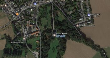 Google-Map: Schlosspark Mickeln