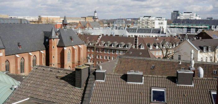 Altstadtdächer (Blick aus dem Schlossturm)