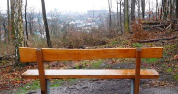 Schöne Aussicht - natürlich auch mit Sitzplatz