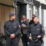 Der Sarrazin unter Polizeischutz