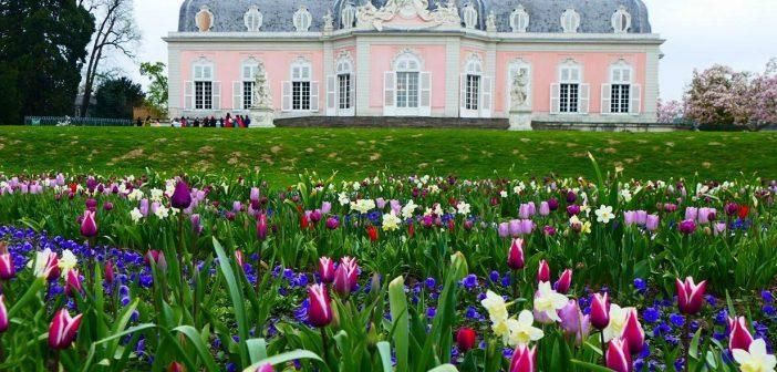 Benrather Schloss im Frühling (A.Otto)