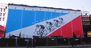Kraftwerk im Ehrenhof - die Rückseite der Bühne