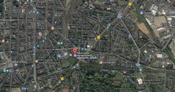 Google-Map: Polichronidis auf der Volksgartenstr.