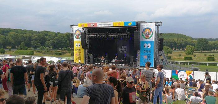 An der Galopprennbahn - Open Source Festival 2017