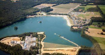 Der Großenbaumer See im Süden Duisburgs (Foto: komoot)
