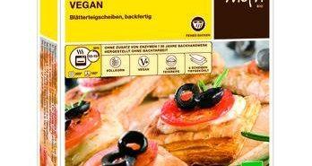 Moin ist die Marke für verschiedene Sorten TK-Blätterteig