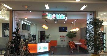 November 2012: Bubble-Tea-Room in den Arcaden - menschenleer