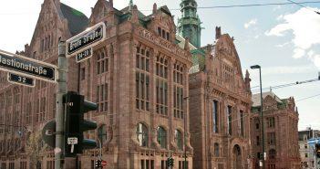 Der Stahlhof an der Bastionstraße