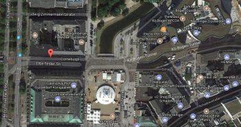 Google-Map: Corneliusplatz