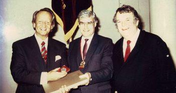 Moskau 1990 - der Altbierbotschafter bringt den Russen Gatz mit