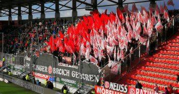 Fortuna-Fans auswärts in Ingolstadt