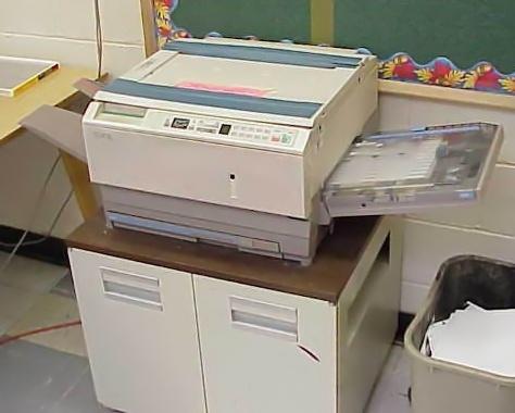 Ein Xerox-Fotokopierer der späteren Generation