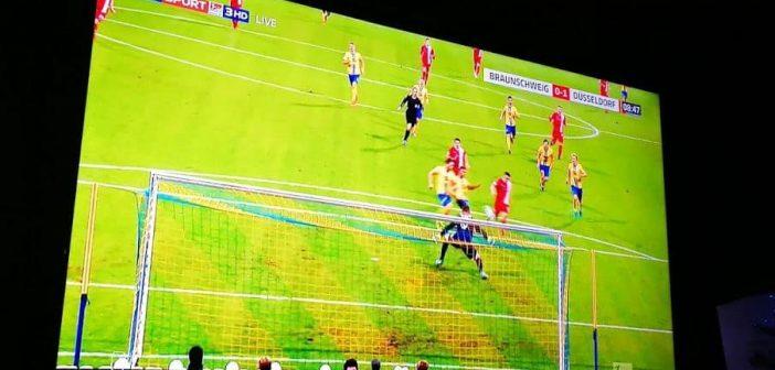 Braunschweig vs F95 - das 0:1 durch Davor Lovren
