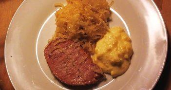 RdW:Sauerkraut, Kasseler und Kartoffelpürree