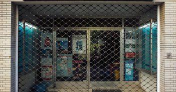 Bild der KW51: Waschsalon, geschlossen