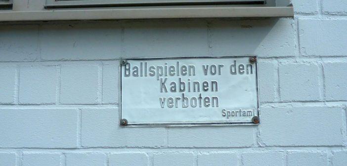 Fortuna-Punkte: Winterpause - Ballspielen verboten