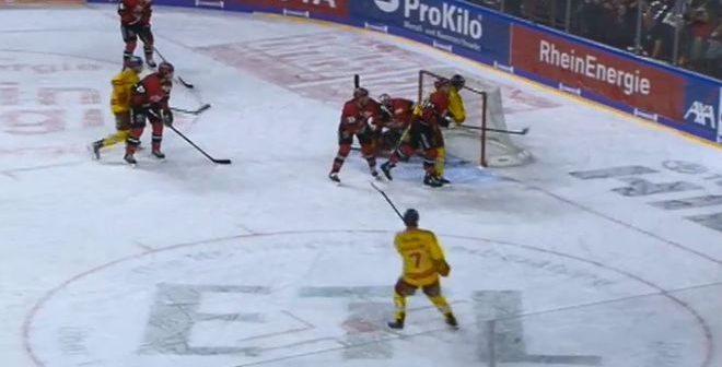 Haie vs DEG 0:1 (Screenshot: Sport1)