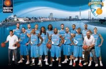 Das Basketball-Team der 2011 pleite gegangenen Giants