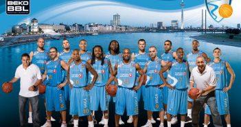 Das Basketball-Team der 2011 pleite gegangenen Giants