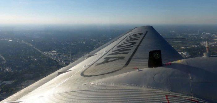 Von oben aus der Ju-52