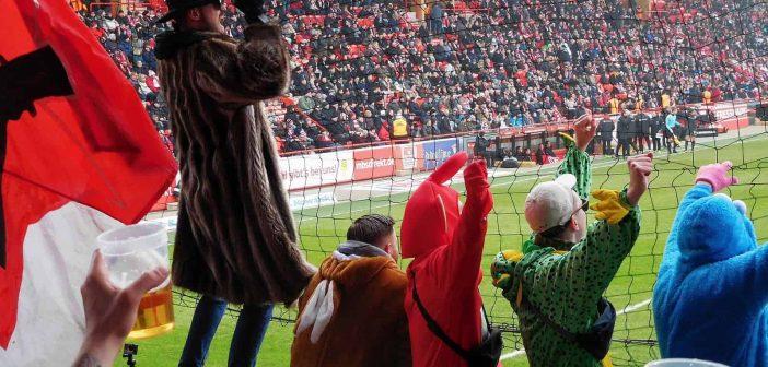 Union vs F95: Torjubel