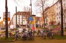 Dorotheenplatz - zugemüllt...