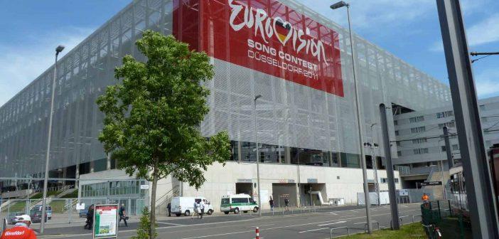 Mai 2011: Die Arena im Zeichen des Eurovision Song Contest