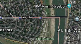 Google-Map: Übersicht 3-Brücken-Runde