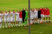 F95 vs St. Pauli 2:1 - Die Jungs freuen sich