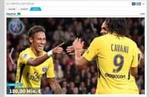 Die teuersten Kicker (Screenshot: transfermarkt.de)
