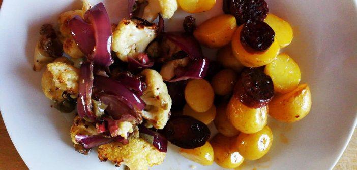 RdW: Blumenkohl verbrannt und Chorizo-Kartoffeln