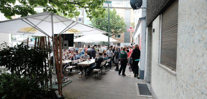 Bilker Häzz - die Terrasse an der Talstraße