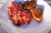 RdW: Kalbleber mit Zwiebel-Apfel-Marmelade