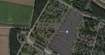 Google-Map: Messeparkplatz P1