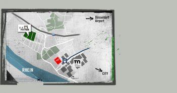 D.Live Open-Air-Park: Geländeplan (Quelle: DCSE)