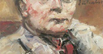 Lovis Corinth: Porträt Herbert Eulenberg