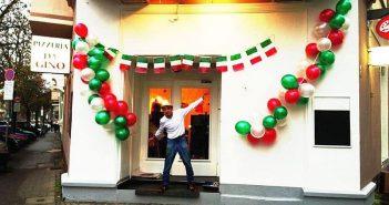 Eröffnung: Gino am neuen Standort im November 2013